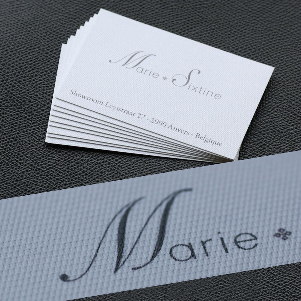 Exemple De Carte Visite Texture Rives Design Commandez