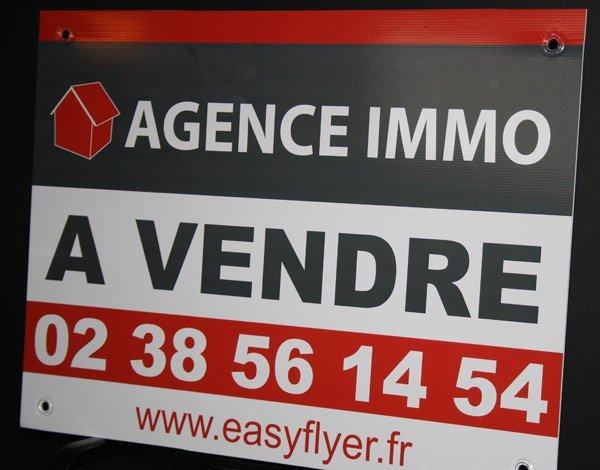 exemple de panneaux d agence immobili 232 re quot a vendre quot ou quot vendu quot ou quot a louer quot