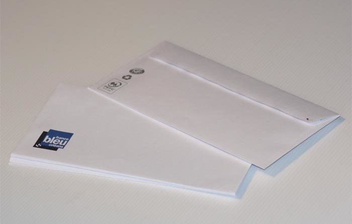 Impression d 39 enveloppes sans fen tre france bleu orl ans for Enveloppe sans fenetre