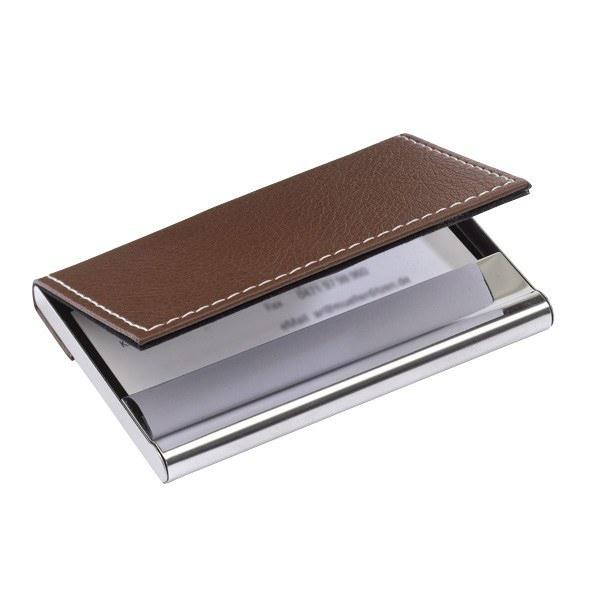 nouveau porte carte de visite cuir marron easyflyer carte de visite imprimerie en ligne. Black Bedroom Furniture Sets. Home Design Ideas