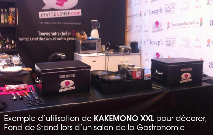Exemple de stand d co 100 kak mono xxl photocall for Exemple de stand