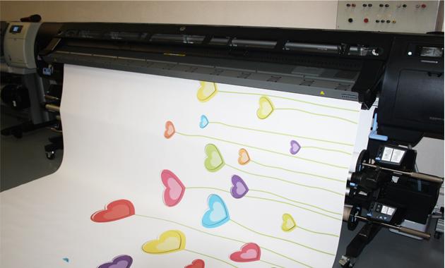 Impression papier peint