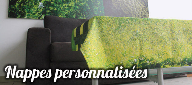 Impression personnalisee Nappe Deco
