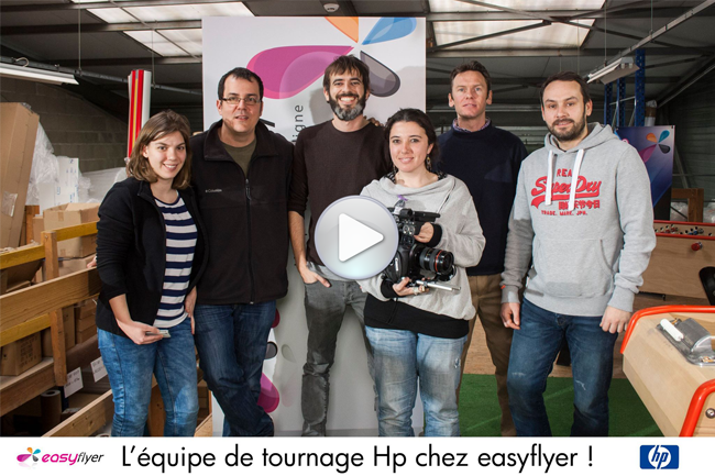 HP Europe chez Easyflyer l'imprimerie en ligne