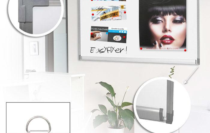 tableau d 39 affichage magn tique ou li ge pour vos r unions. Black Bedroom Furniture Sets. Home Design Ideas