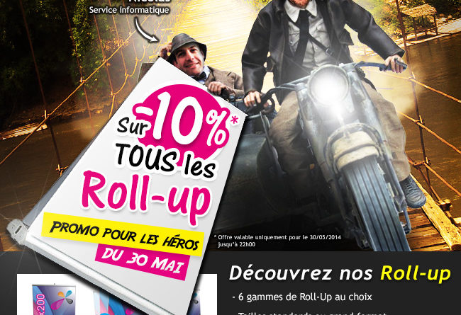 roll up en promotion
