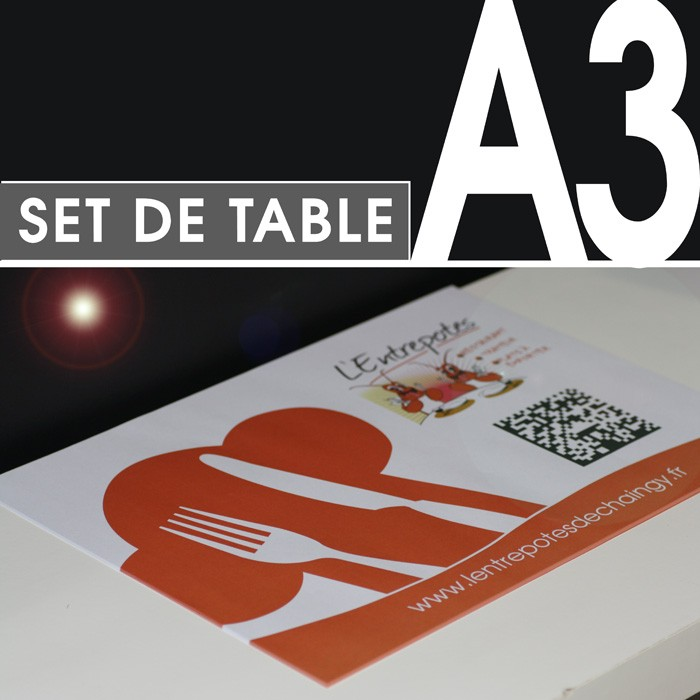set de table pour restaurant