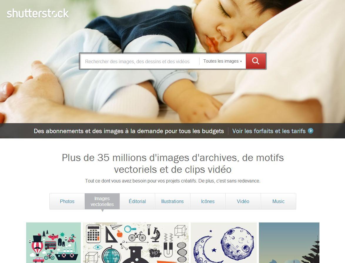 images pour impression shutterstock