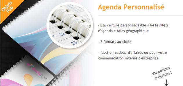 agendas personnalisé