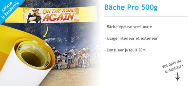 bache pvc 500g