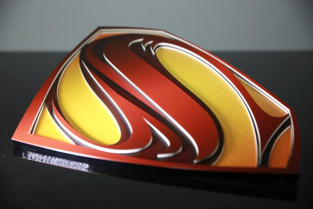 Logo superman 3D