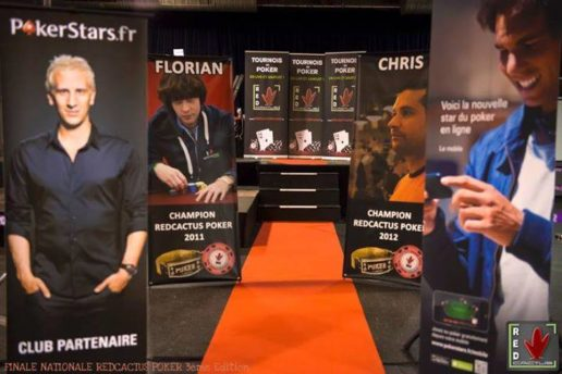 Roll-Up et X-Banner chez RedCactus Poker