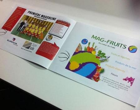 Brochure A4 lecture à l'italienne