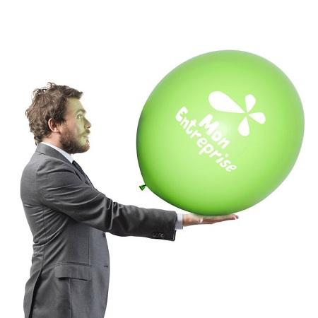 Impression ballon publicitaire baudruche geant 90cm