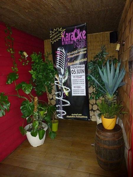 Impression bâche Karaoke