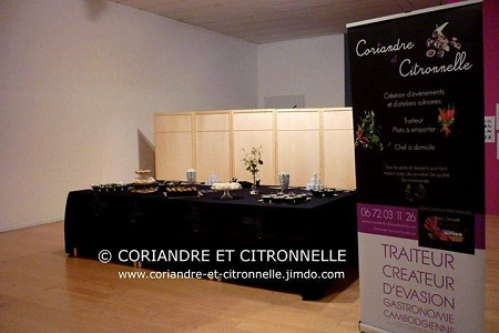 Impression roll up pour coriandre et citronelle