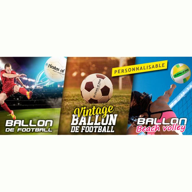 Ballon de sport personnalisé