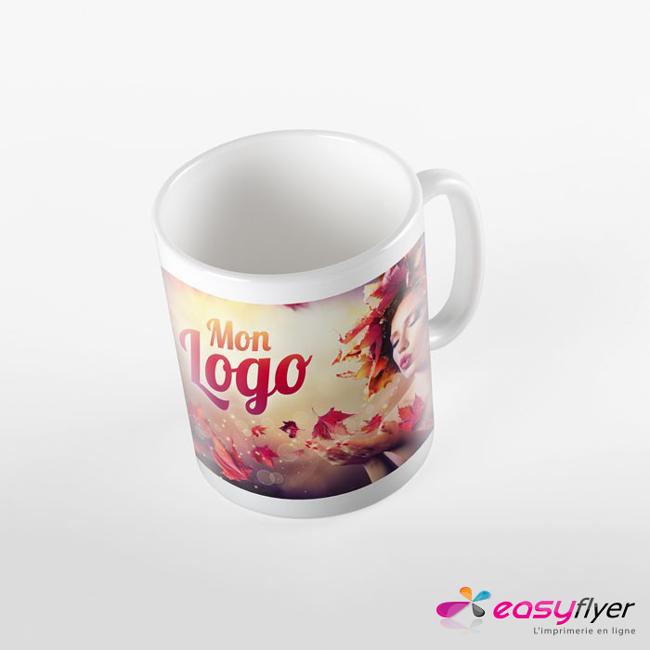 Impression mug personnalisé panoramique