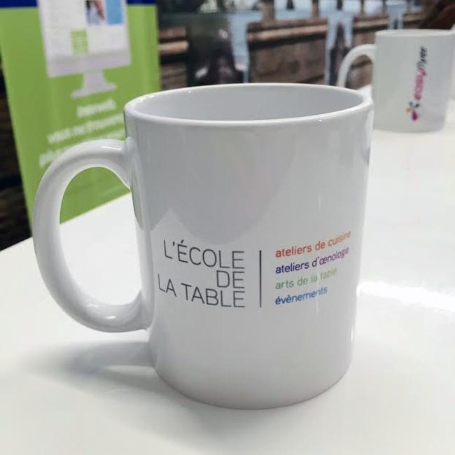 Le mug personnalisé, l'objet publicitaire incontournable