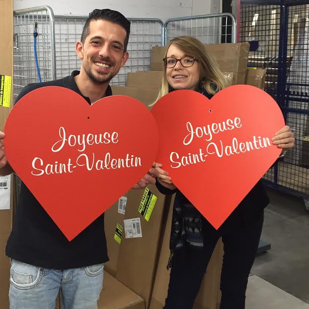 Décoration saint valentin : imprimez vos cœurs personnalisés !