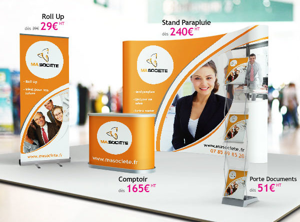 plv grand format pour r ussir son salon professionnel