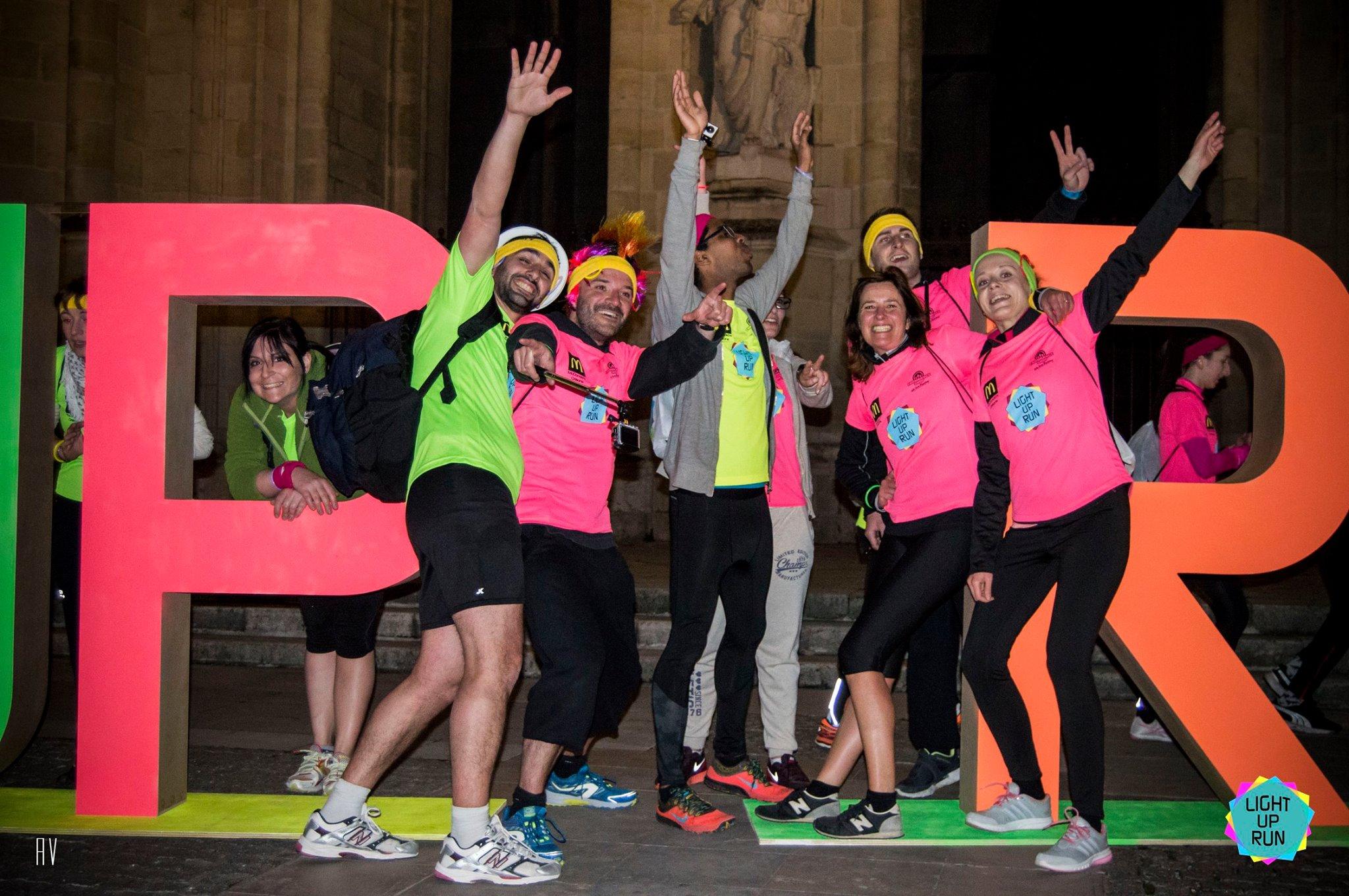 Course Light Up Run avec la Team Easyflyer