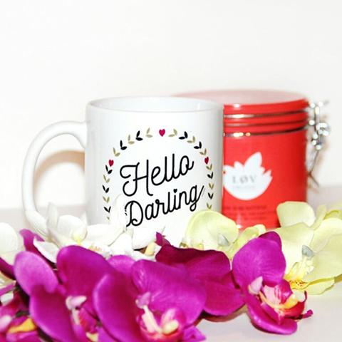 mug personnalise partage