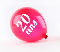 Ballon anniversaire personnalisé