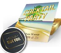 Carton d'invitation événement entreprise