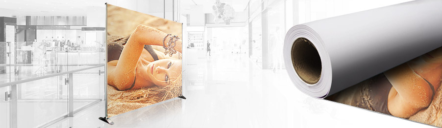 Impression de toile textile personnalisée