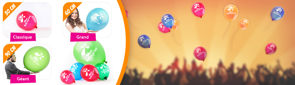 Ballon publicitaire pour vos événements