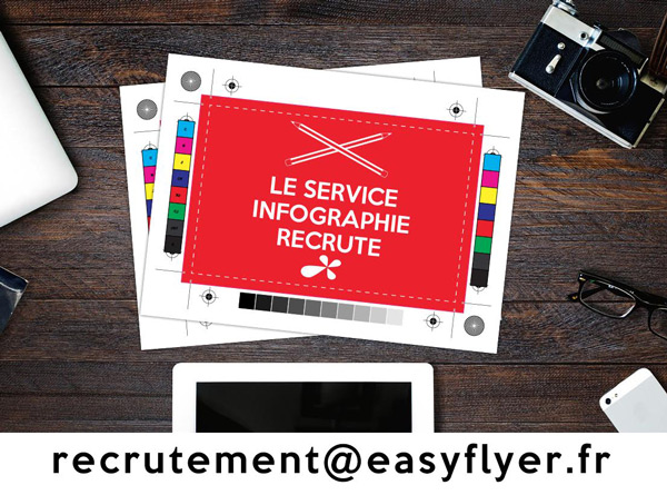 Recrutement infographie Easyflyer
