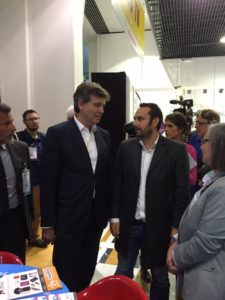 Arnaud Montebourg rencontre Easyflyer - Salon SME