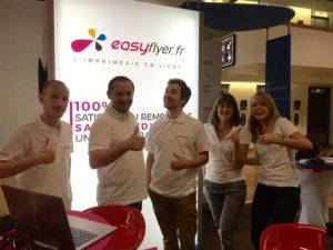 Equipe Easyflyer salon SME