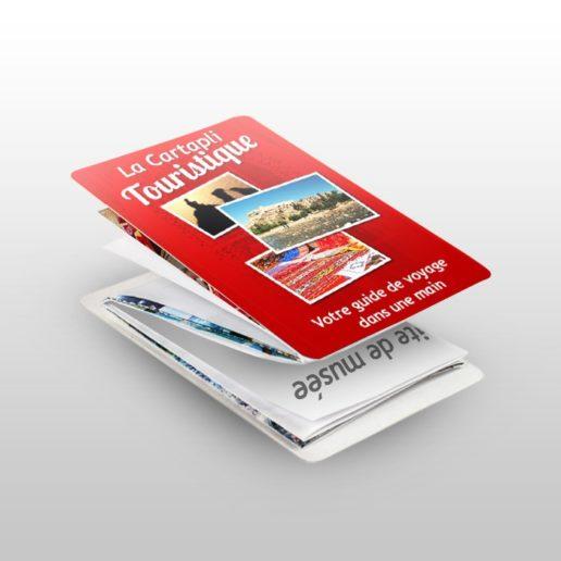 Cartapli - carte de visite dépliante