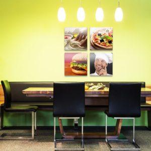 impression toile canvas triptyque personnalisé cuisine