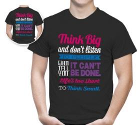 Tee-shirt personnalisé pour offrir lors d'un salon