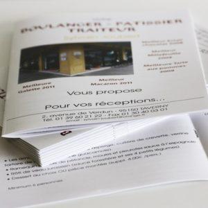 Brochure d'entreprise format A5
