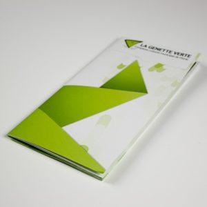 Brochure d'entreprise format B6