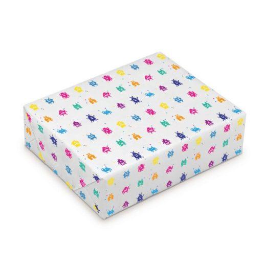 Impression de papier cadeau personnalisé