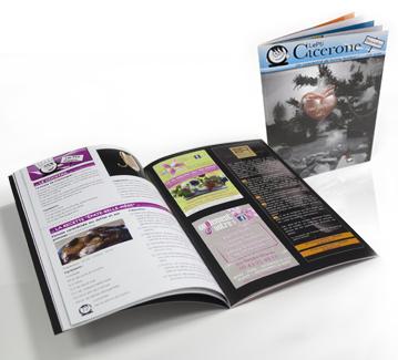 Brochure A5 kit envoi publicitaire nouvelle année