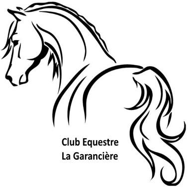 Fichier impression personnalisé polo cheval pour centre equestre