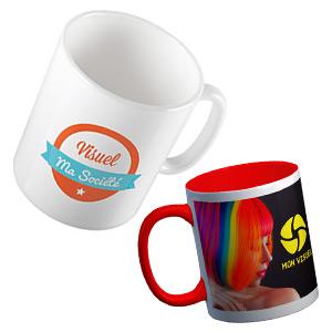 Voeux 2017 kit support print mug personnalisé couleur