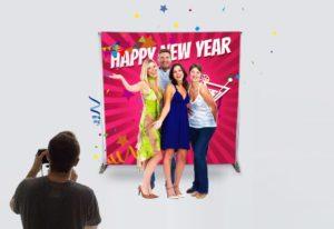 PLV Photocall pour célébrer vos événements