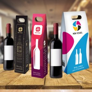 Porte bouteille carton personnalisé nouveauté packaging