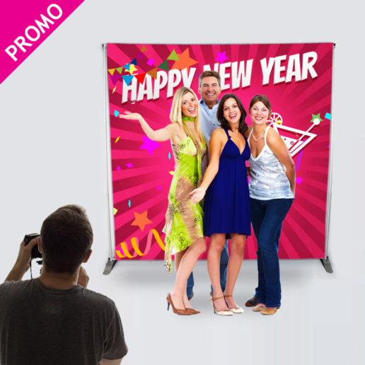 Promo -30% sur le Photocall pour tous vos événements