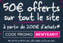 50 € offerts sur tout Easyflyer !