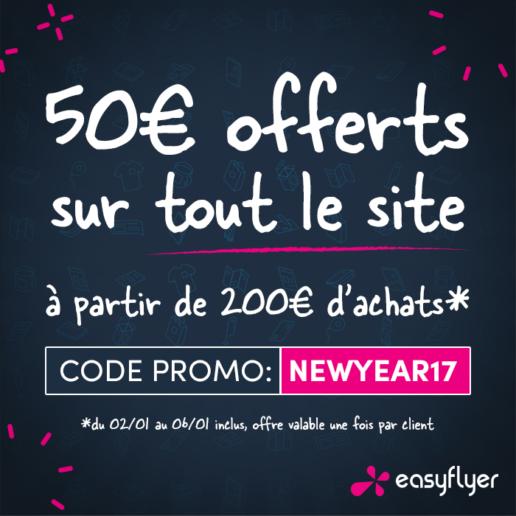 50 euros offerts sur easyflyer