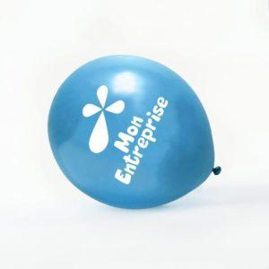 Ballon baudruche publicitaire metal