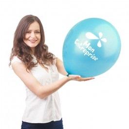 Grand ballon baudruche publicitaire 60cm